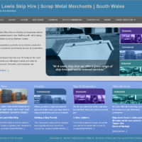 A Lewis Skip Hire | South Wales