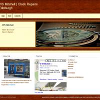 WS Mitchell   Clock Repairs Edinburgh